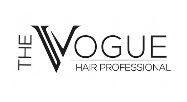 The Vogue Hair Professional Brand Logo