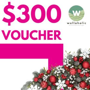 Wellaholic Brand Voucher $300